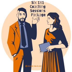 Six 1x1 Coaching Sessions Package