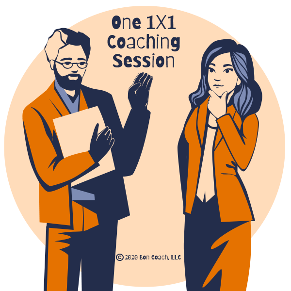 One 1x1 Coaching Session